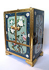 Japanese Antique Cloisonne Jewelry Box with Drawers