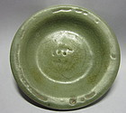 Chinese Ming Dynasty Small Celadon Plate