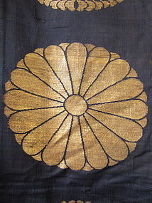Japanese Antique Large Buddhist Textile Cover