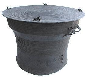 18th/19th Century Thai Bronze Rain Drum