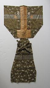 Rare Japanese Antique Textile  Kimono