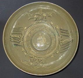 Antique Korean Goryeo Ceramic Bowl