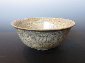 Korean Joseon Period Buncheong Bowl