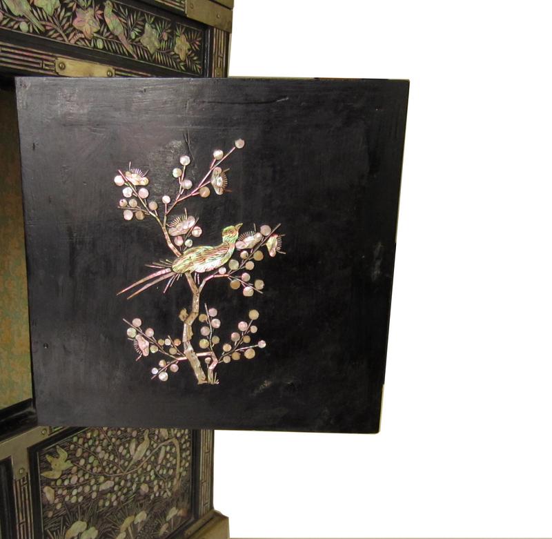 Antique Korean Inlaid Chest