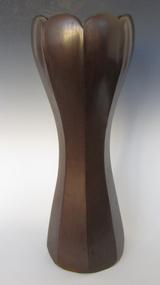 Japanese Art Deco Bronze Vase