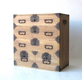 Antique Small Kiri Tansu from Niigata Prefecture