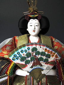 Japanese Hina Dolls by Ando Keiho
