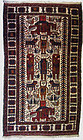 Antique Middle Eastern Hand Knotted Rug
