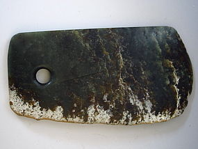 Chinese Jade Neolithic Axe