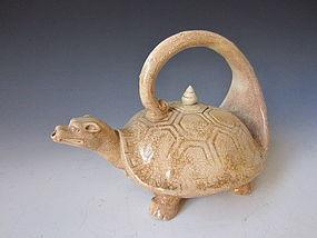 Shiro Satsuma Turtle Sake Decanter
