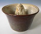Flambé Porcelain Justice Cup
