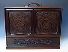Antique Chinese Hardwood Box