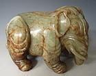 Chinese Beautiful Jade Elephant