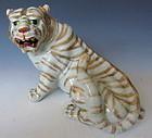 Japanese Porcelain Tiger Figure