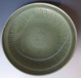 Antique Chinese Longquan Celadon Glaze Bowl