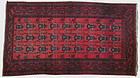 Antique Belouch Persian Hand Knotted Rug