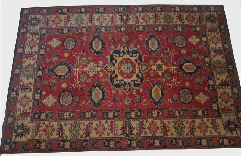 Antique Kazak Hand Knotted Rug