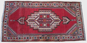 Antique Afshar Hand Knotted Rug