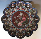 Antique Japanese Cloisonne Charger