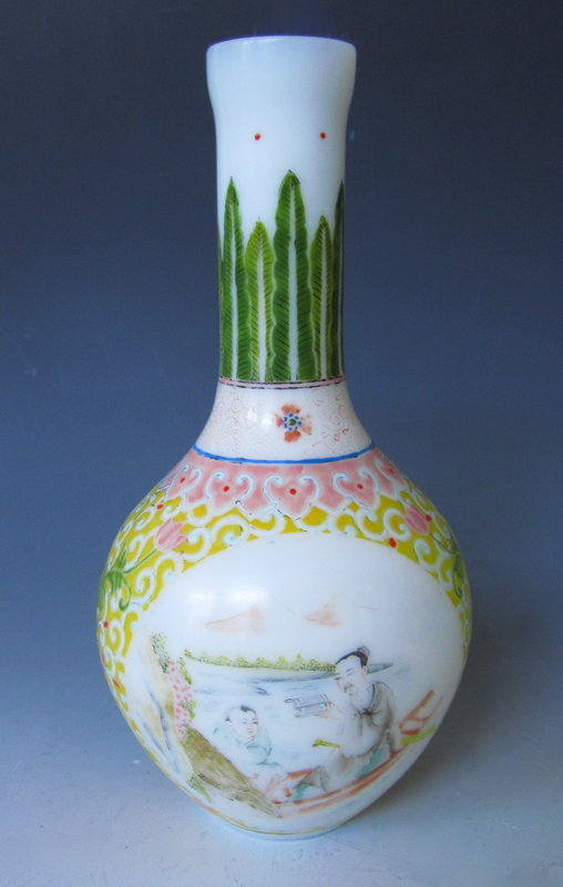 Antiques Regional Art Asian Chinese Glass Trocadero