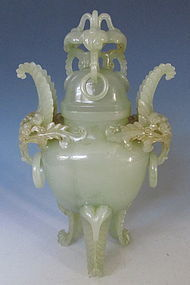 Chinese Jade Censer