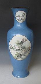 Chinese Fencai Vase