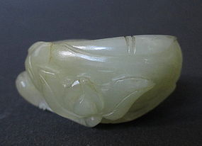 Antique Chinese Jade Water Coup