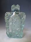Antique Chinese Aquamarine Colored Snuff Bottle