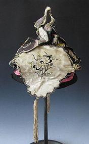 Antique Chinese Child's silk Hat