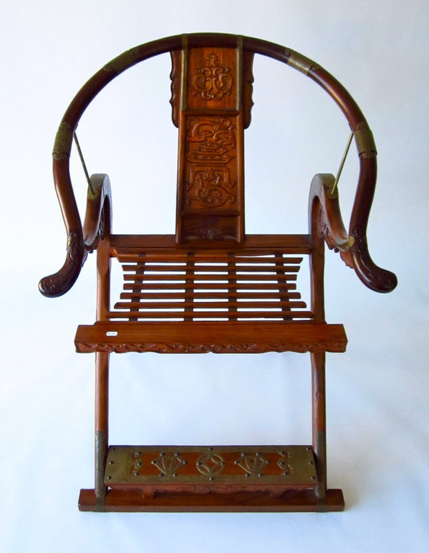 Chinese Ming Style folding Chair