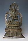 Antique Nepalese Bodhisattva