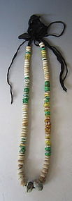 Chinese String of Rare Han Dynasty Glass Beads