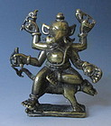 Antique Bronze Ganesha