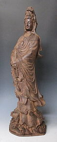 Chinese Carved Quan Yin