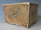 Antique Rare Satsuma Incense Censer