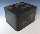 Japanese Lacquered Cosmetic Box