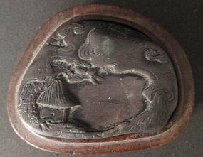 Chinese Miniature Duan Inkstone