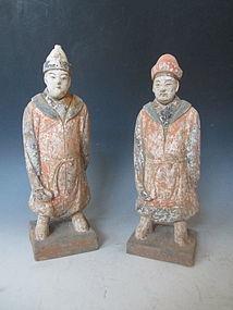 Chinese Ceramic Tomb Figures