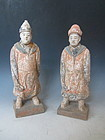 Chinese Ceramic Tomb Figures