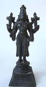Antique Indian Hindu Deity Statue