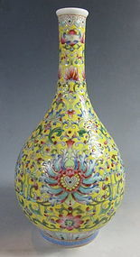 Chinese Small Porcelain Vase with Daoguang Mark