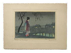 """Girl By Twilight"" By Takahashi Shotei AKA Rakutei"