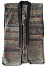Japanese Antique Sakiori Sodenashi Work Vest