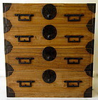 Stunning Original Antique Japanese Kiri Tansu  Late Edo Age
