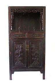 Antique Chinese Display Cabinet