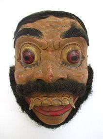 Vintage Balinese Topèng Theatre Mask
