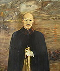 General Chang Kai-Shek painting by Aimee A. Lozier