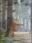 Original Woodblock Print by Tōshi Yoshida