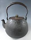 Japanese Antique Iron Tetsubin