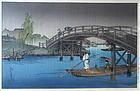 Japanese Woodblock Print by Koho Shoda